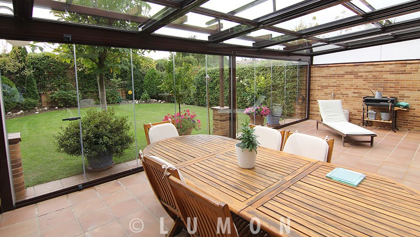 Por qu acristalar la terraza jacema - El porche de octaviano ...