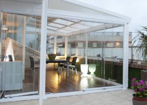 Una terraza sin barreras visuales ni obstáculos